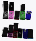 【MMD】携帯電話(ガラケー)セット(最新:_01)