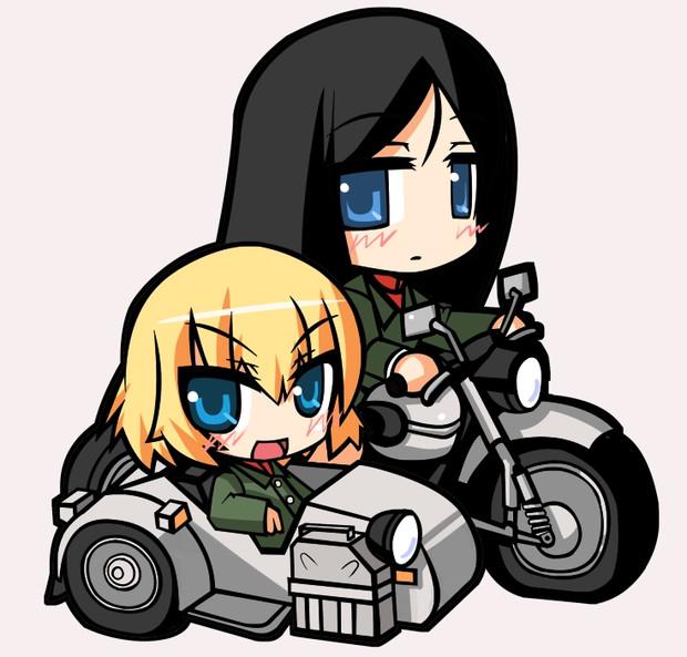 カチューシャとノンナとサイドカー