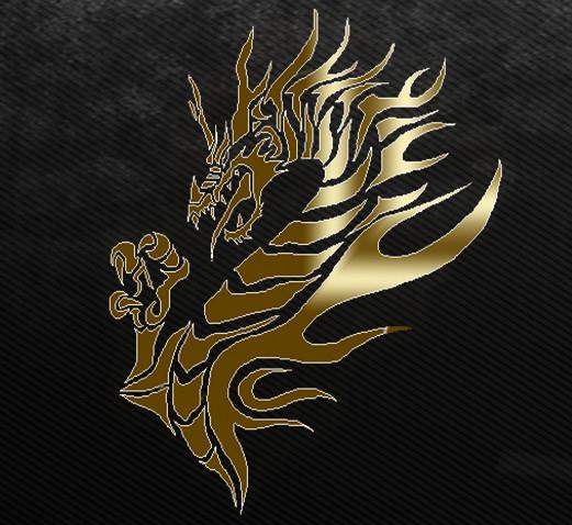 ドラゴンのサムネ(中心寄りバージョン)