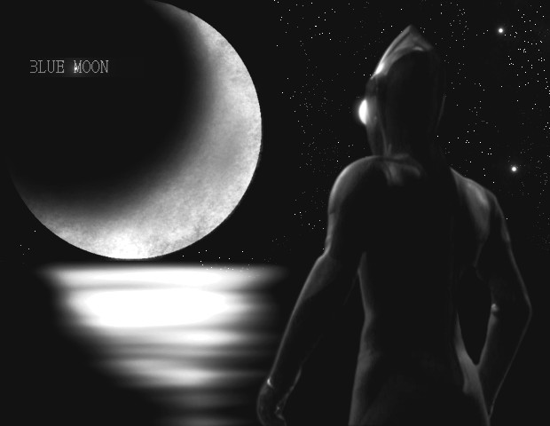 Photocollage moon