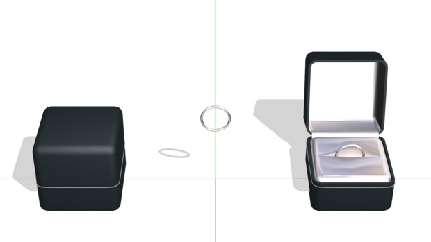 【MMD】ケッコンカッコカリ出来そうな指輪セット【アクセサリ配布】
