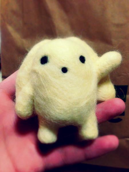 【羊毛フェルト】うーさー【11】