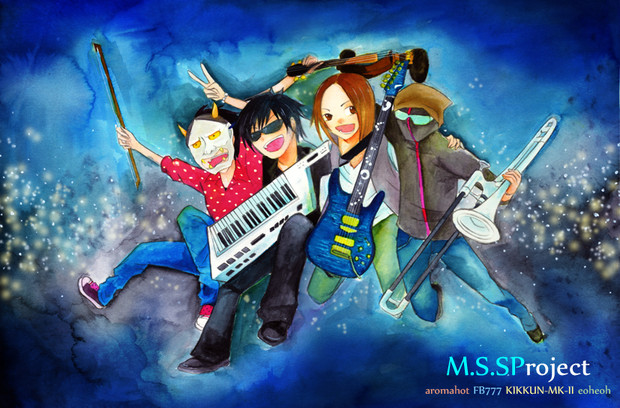 【MSSP】M.S.SProject描いてみた