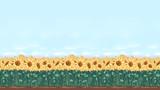 16:9と化した向日葵畑ステージ