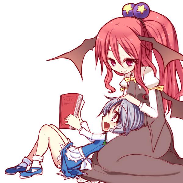 咲夜ちゃんと小悪魔さん