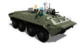 BTR-70っぽい車両
