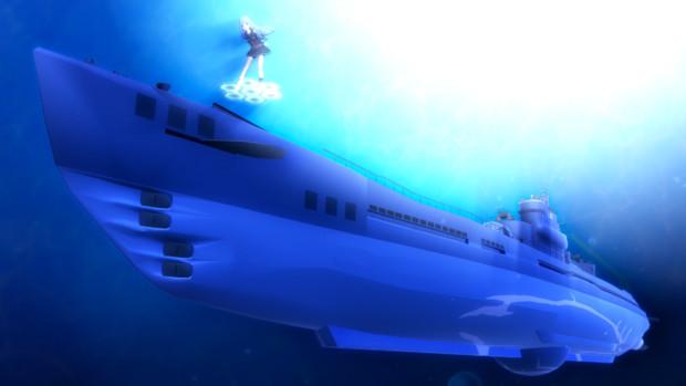 提督 蒼の401と再会です。