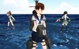 【MMDモデル配布】特型駆逐艦 白雪【MMD艦これ】