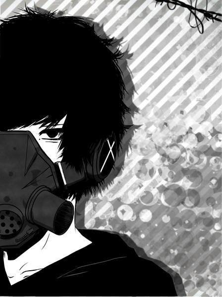 ガスマスク フリーアイコン ねるこっぷ さんのイラスト ニコニコ静