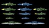 【MMDモデル】ガミラス艦バリエーション【宇宙戦艦ヤマト2199】
