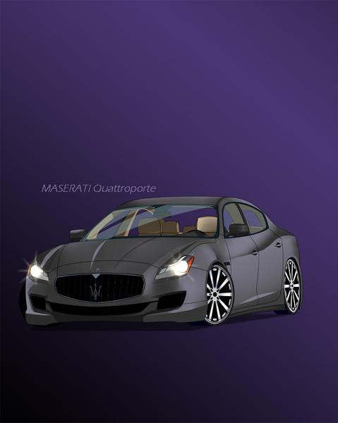 MASERATI Quattroporte(2014)