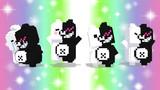 【MMDモデル配布】ドットモノクマ