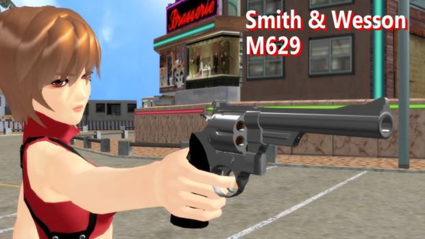 【MMD】S&W M629【モデル配布】