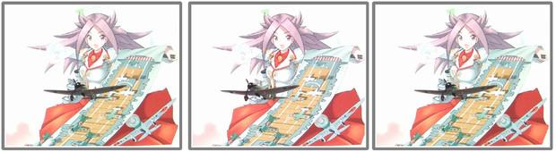 【立体写真】艦載機リベンジ