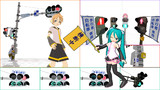 【MMD】交通信号灯器【モデル配布】