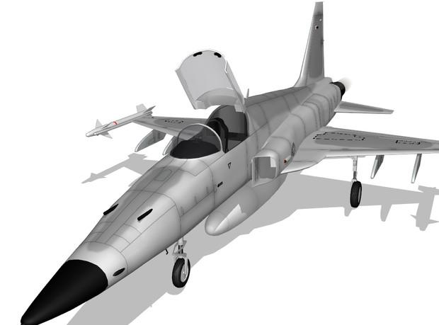 F-5E Tiger 2人柱版 公開