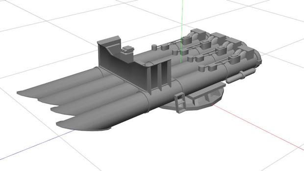 ドイツ海軍の魚雷発射管です / マジロン さんのイラスト - ニコニコ静 ...