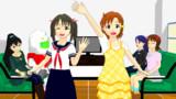 【MMDモデル配布】今井加奈と矢吹可奈。あとアイドルず更新