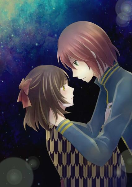 君と僕、星降る夜