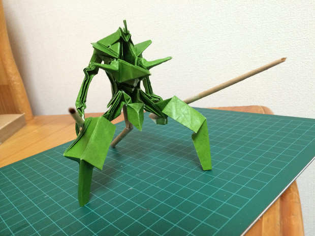 折り紙で剣の装