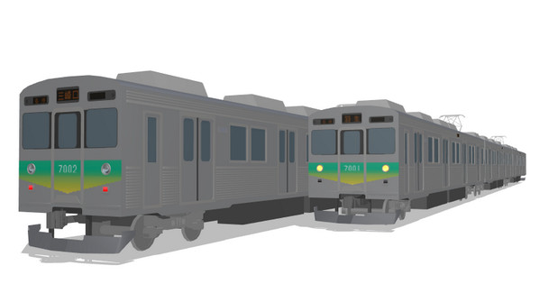 【MMD】秩父鉄道7000系
