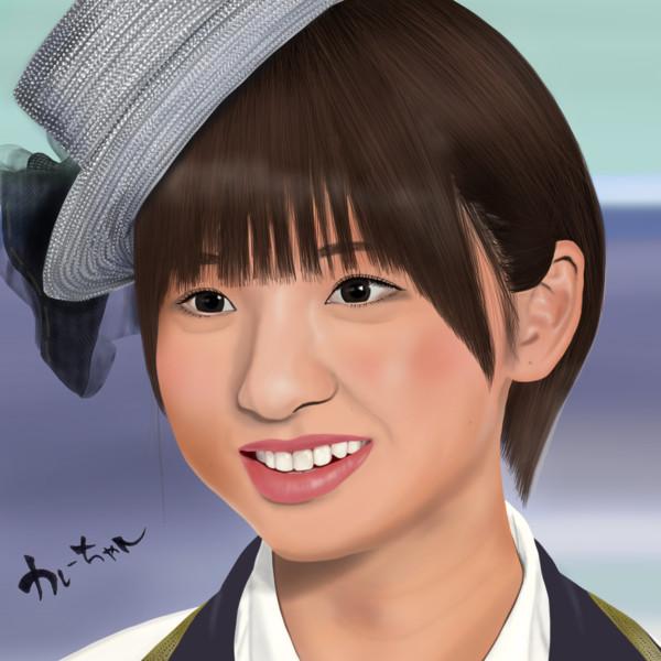 初心者が本気で描いてみた篠田麻里子