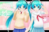 【MMD】ミクさん追加衣装Ver0.5【モデル配布】