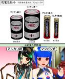 【MMD】乾電池セット【アクセサリ配布】