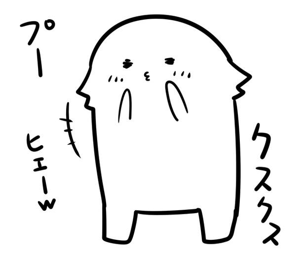 比叡「プークスクス」