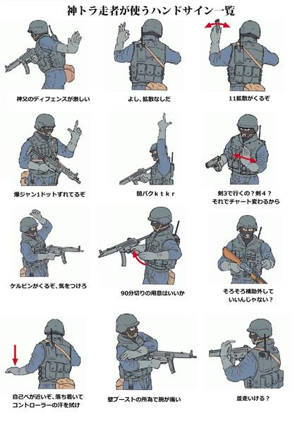 ハンドサイン(神トラver)
