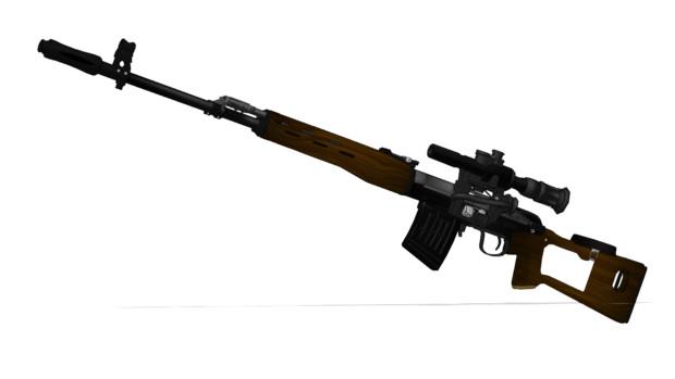 ドラグノフ狙撃銃
