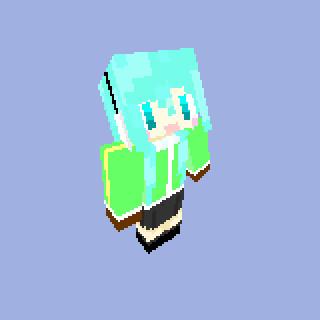 【Minecraft】 マトリョシカ_ミクVer スキン 【サンプル】