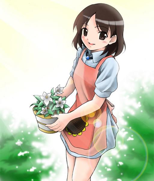 花屋のお姉さん