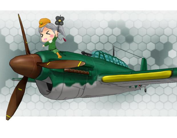 【MMD艦これ】彗星妖精ver1.0【配布】