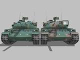 【MMD】74式戦車 ver1.2 更新報告