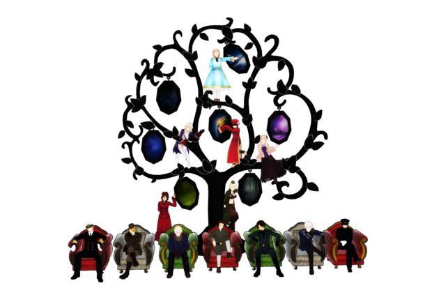 MMD-額縁の木(アクセサリ配布)(ノ≧∇≦)ノ