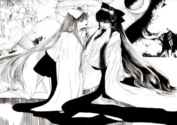 月下の艶宴