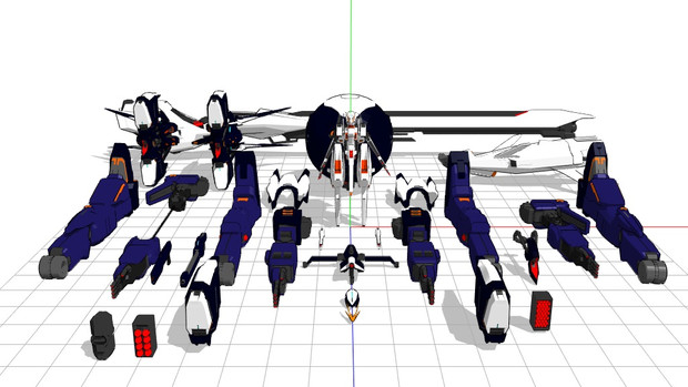 TR-6・追加兵装配布開始
