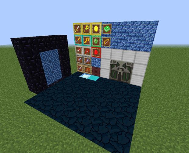 ゼルダの伝説 神々のトライフォース in Minecraft