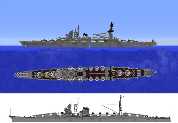 筑波型防空巡洋艦 / 藤堂大和 さ...