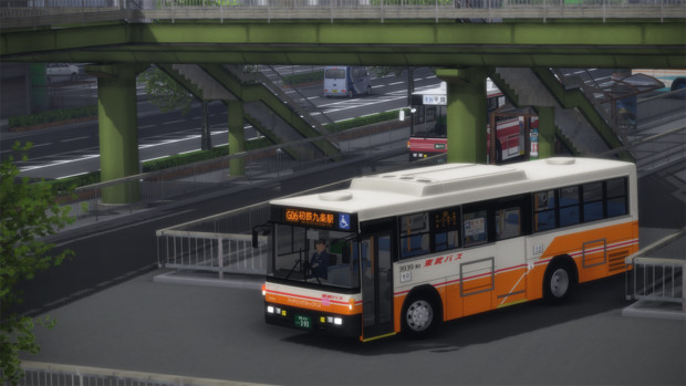 路線バス(架空車種)
