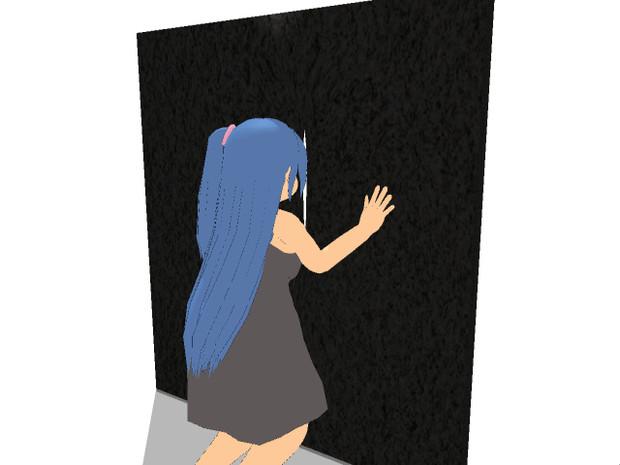 【MMDのぞき込み選手権】壁の割れ目編ー2【答え】