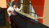 【MMD艦これ】赤城さんを見る赤城さん【MMD模型配布】