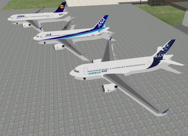 A-320追加塗装&仕様