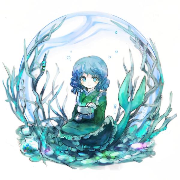 人魚の部屋 ちゃまるく さんのイラスト ニコニコ静画 イラスト