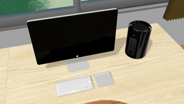 [MMDアクセサリ] 2013年型Mac Pro