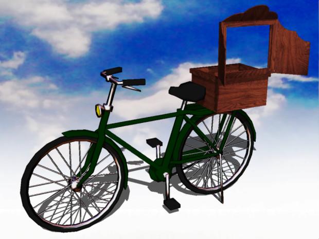 【MMD-OMF4】自転車