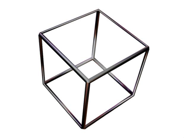 【MMD-OMF4】メタルキューブ