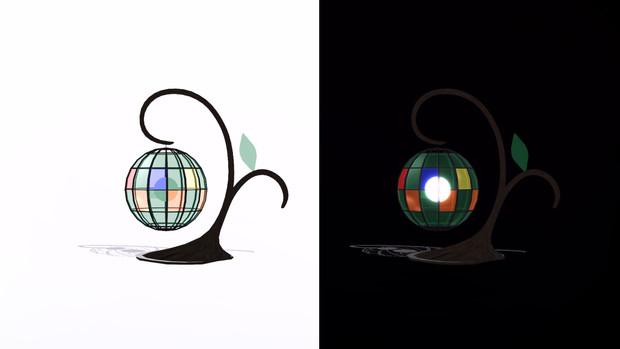 【MMD-OMF4】樹木ランプ