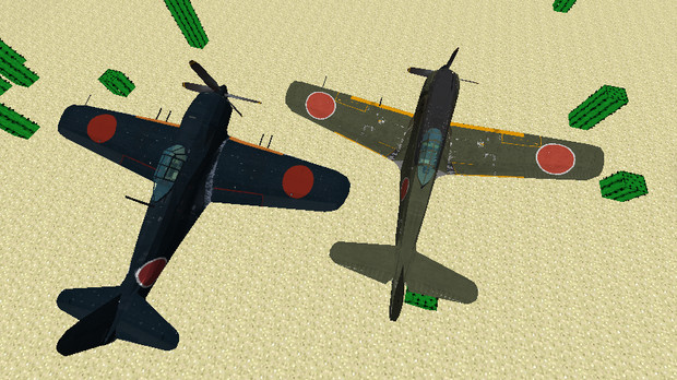 【minecraft】四式戦闘機疾風【配布あり】